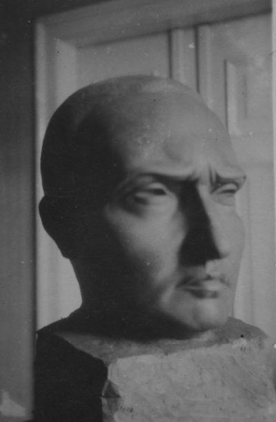 Ritratto di Fortunato Depero / Portrait of Fortunato Depero
