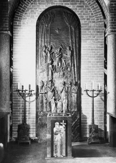 La predicazione del Battista (fonte battesimale) / The Predication of the Baptist (baptismal font)