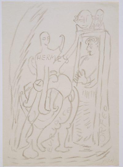 Hermes, Euridice, Orfeo / Hermes, Eurydice, Orpheus