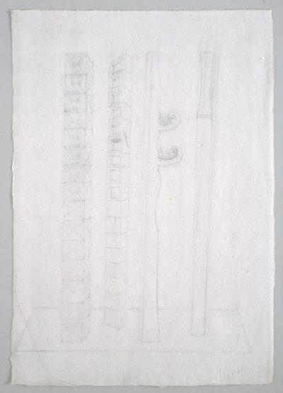 """Studio per scultura """"Paesaggio dimenticato"""" / Study for Sculpture """"Forgotten Landscape"""""""