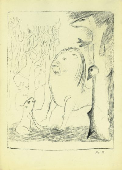 Disegno – Illustrazione per un racconto / Drawing – Illustration for a Story