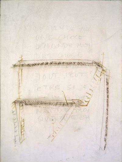 """Studio per scultura """"La torre di Babele"""" / Study for Sculture """"The Tower of Babel"""""""