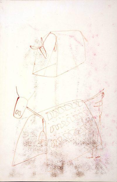 """Studio per scultura """"La vacca freddolosa"""" / Study for Sculpture """"The Cow feeling the Cold"""""""