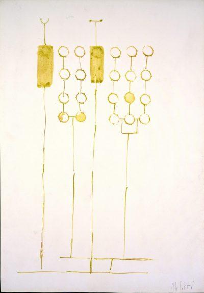 """Studio per scultura """"Ombre"""" / Study for Sculpture """"Shadows"""""""