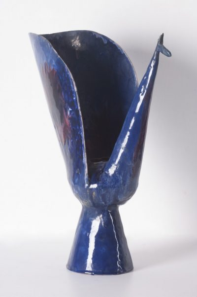 Vaso pavone / (Peacock Vase)