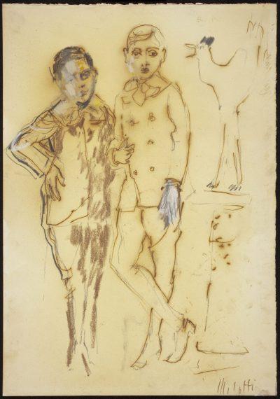 I due cugini – Autoritratto con Carlo Belli / The Two Cousins – Self-Potrait with Carlo Belli