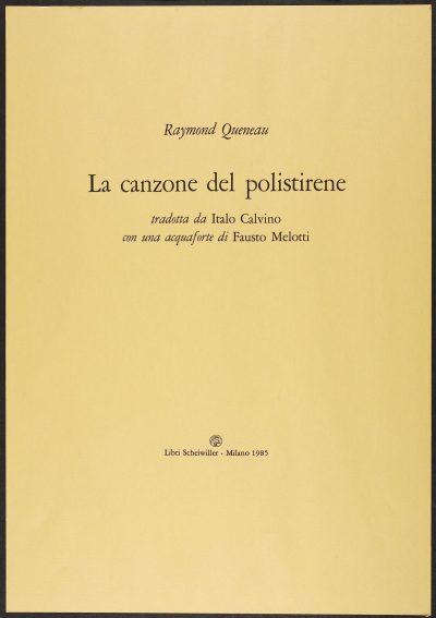 La canzone del polistirene / The Song of Polystyrene