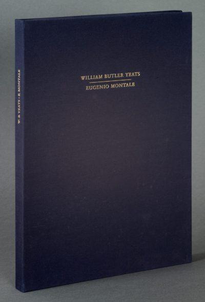 William Butler Yeats / Eugenio Montale