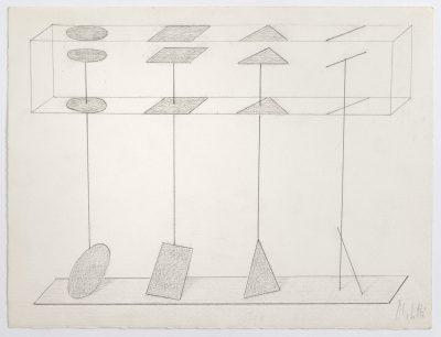 "Studio per scultura ""Elementi"" / Study for Sculpture ""Elements"""