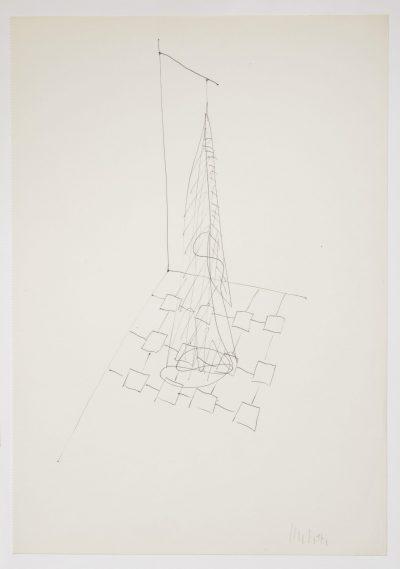 """Studio per scultura """"La chioma di Berenice"""" / Study for Sculpture """"Berenice's Mane"""""""