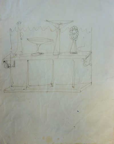 Disegno – Progetto di allestimento / Drawing – Project for Setting Up