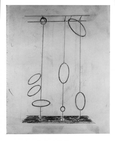 Disegno –  Studio per scultura / Drawing – Study for Sculpture